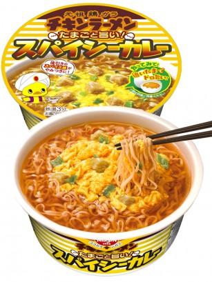 Fideos Nissin Chikin Ramen Bowl con Curry | Picante 90 grs.