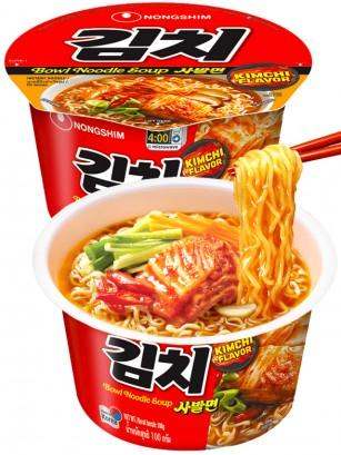 Fideos Ramen Coreanos con Salsa Kimchi | Bowl POT Edit 100 grs.