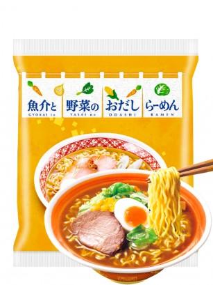 Fideos Ramen Miso con Yasai no Dashi | Summer Ramen 86 grs. | Pedido GRATIS!