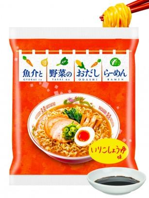 Fideos Ramen Shoyu con Marisco y Verduras | Itomen 85 grs