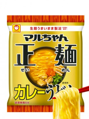 Fideos Udon Pollo y Curry | Nihon Golden Premium | 95 grs