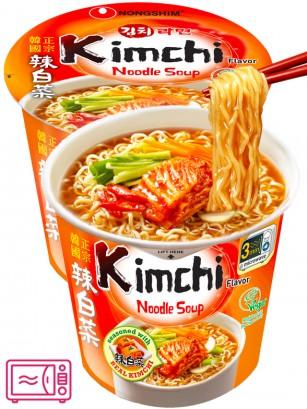 Fideos Ramen Coreanos Kimchi | Cup Bowl Migug-in 75 grs