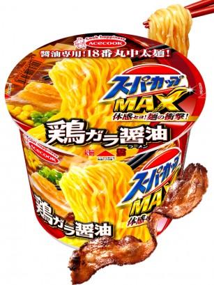 Fideos Ramen Super Cup MAX | Soja Panceta 119 grs