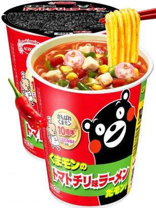 Fideos Ramen de Tomate, Chili y Naruto | Receta de Oso Kumamon 58 grs.
