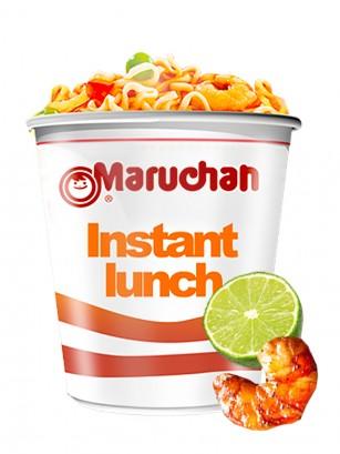 Ramen Maruchan Instant Lunch Cup, Gambas y Lima | Nº1 Mundial 64 grs.