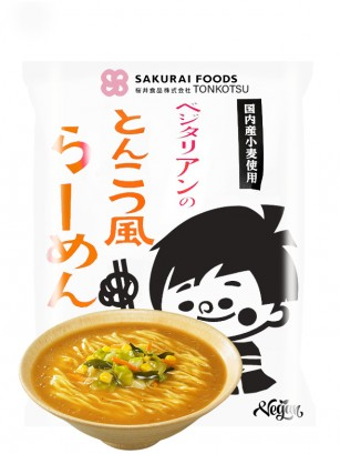 Fideos Ramen Japoneses Tonkotsu Veganos | 106 grs. | Pedido GRATIS!
