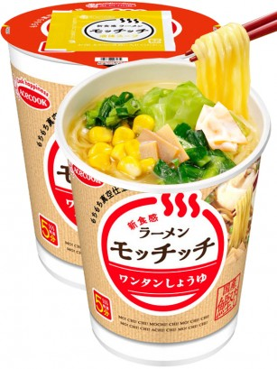 Fideos Ramen Mochimochi de Wantan Shoyu | Cup 69 grs.