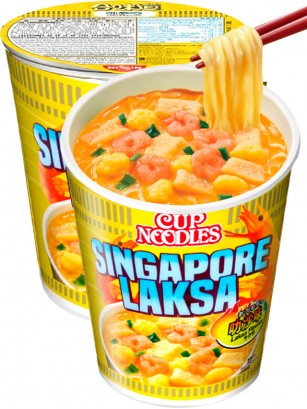 Ramen Nissin Colors Cup Super Toppings | Receta Laksa Marisco Picante  | Pedido GRATIS!