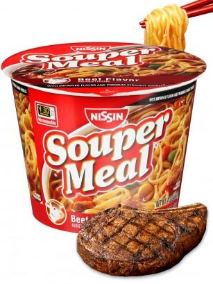 Fideos Ramen de Ternera Minestrone Souper Meal | Big Bowl 122 grs