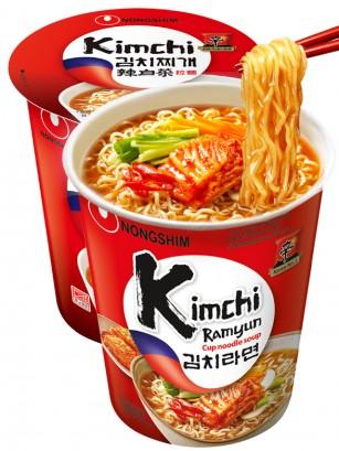 Fideos Ramen Coreanos con Kimchi | Cup Edition