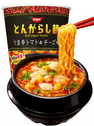 Fideos Ramen Tongarashi con Tomate y Queso Spicy | Cup 66 grs.