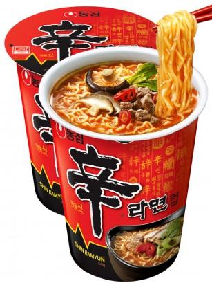 Fideos Ramen Coreanos, Shinramyun | Cup 68 grs