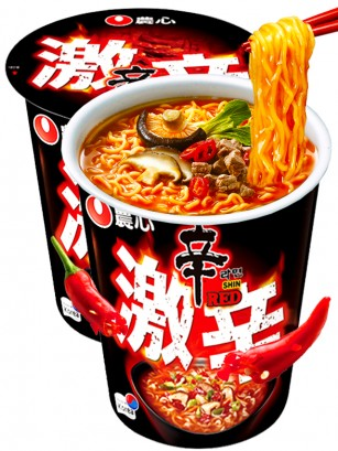 Fideos Ramen Coreanos Red Shinramyun | Super Spicy Cup