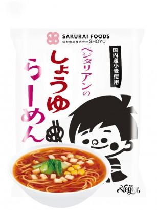 Fideos Ramen Japoneses Shoyu Veganos | 98 grs. | Pedido GRATIS!