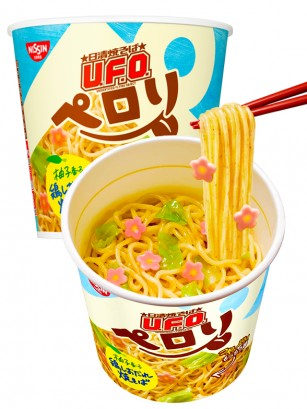 Fideos Yakisoba UFO Sakura de Pollo con Yuzu | Cup 73 grs.