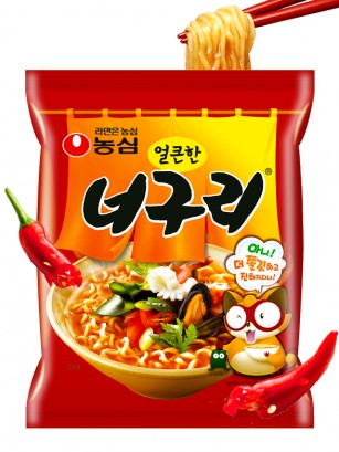 Fideos Udon Coreanos Neoguri Seafood & Surimi | Hot & Spicy