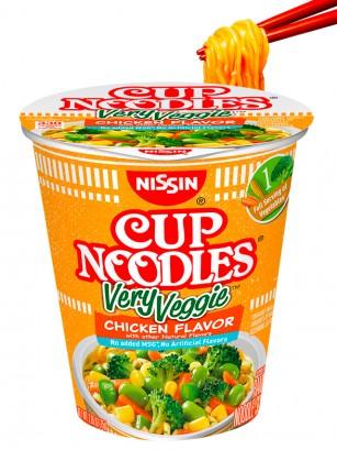 Fideos Ramen Pollo Very Veggie Edamame |Cup Noodles 75 grs