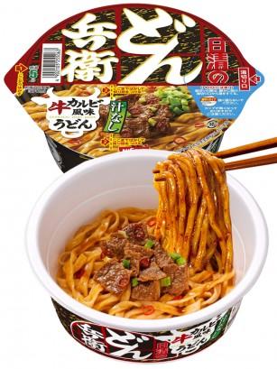 Fideos Yaki-Udon Donburi Samurai Carne Yakiniku Picante 98 grs.