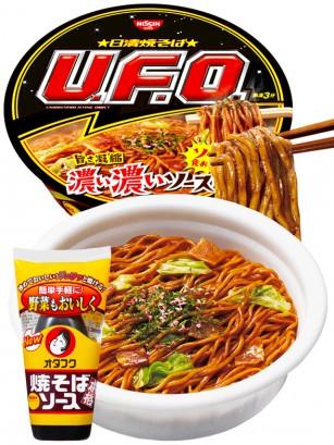 Fideos Yakisoba UFO HK Black  | Japan Osaka Style 116 grs