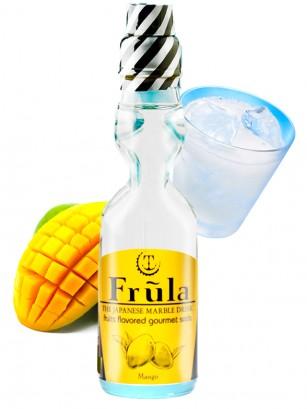 Soda Ramune Premium Sabor Mango 200 ml.