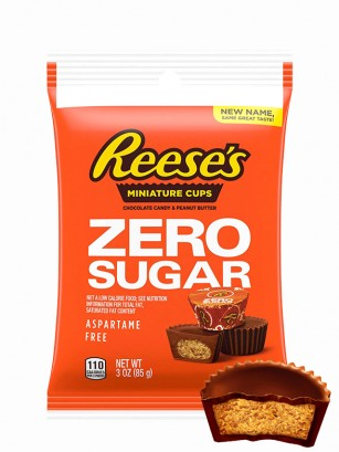Mini Chocolatinas Reese´s de Crema de Cacahuete | Sin Azúcar 85 grs.