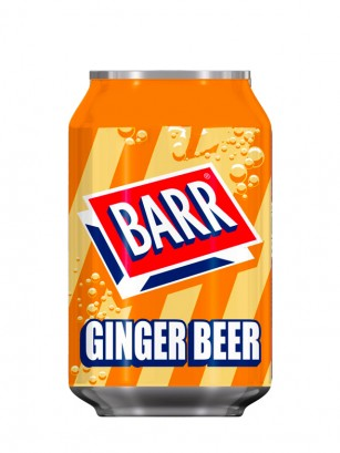 Soda Barr Ginger Beer 330 ml.