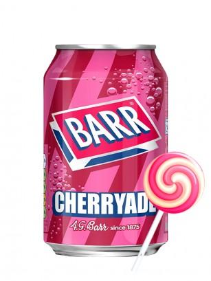 Soda Barr Cherryade | Sabor Piruleta 330 ml.