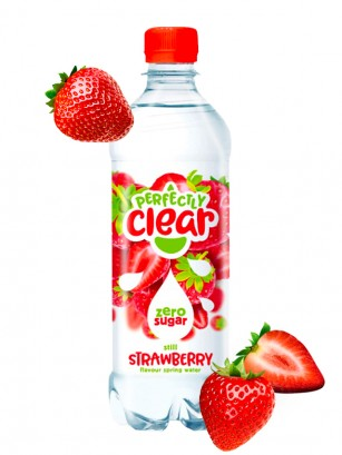 Refresco sabor Fresa | Sparkling Clear 500 ml.