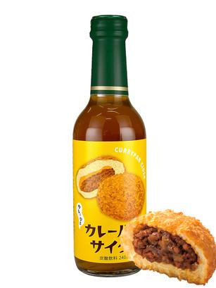 Soda Sabor Curry Pan | Botella Cristal 240 ml