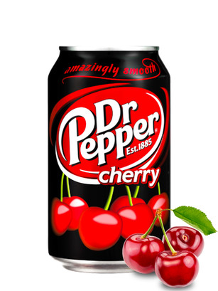 Dr. Pepper Cereza 330 ml