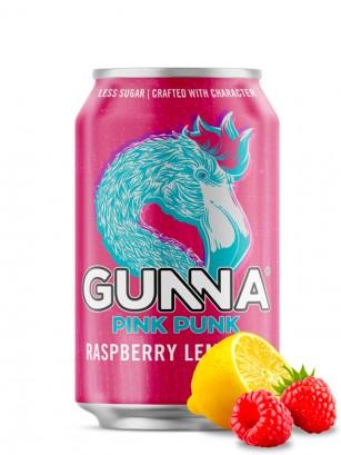 Limonada Pink Punk de Frambuesa | Gunna 330 ml. | Pedido GRATIS!