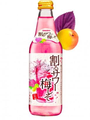 Refresco Japonés de Ume y Shiso | Rose 335 ml