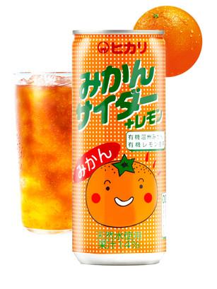 Refresco Japonés de Mandarinas Orgánicas de Kamiita | 250 ml