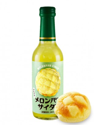 Soda Sabor Melon Pan | Botella Cristal 240 ml
