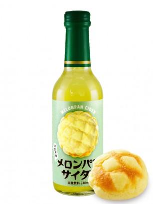 Soda Sabor Melon Pan | Botella Cristal 240 ml