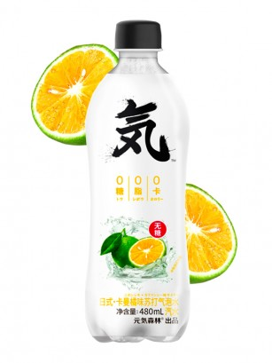 Refresco Clear Sabor Naranja China | Sin Azúcar 480 ml.