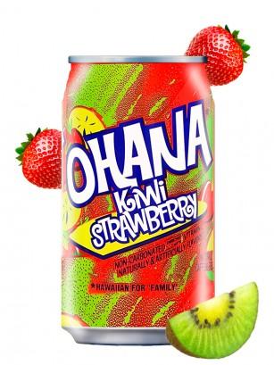 Refresco Ohana de Kiwi y Fresa 355 ml.