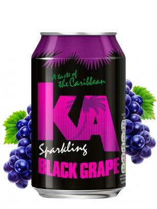 Refresco de Uva Negra | KA Karibbean 330 ml.