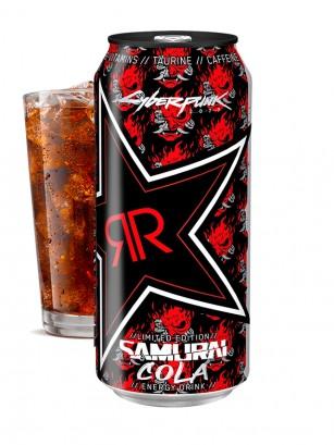 Bebida Energética Rockstar Samurai Cola | Edición Limitada USA 473 ml.