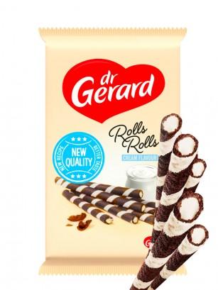 Barquillos de Cacao Rellenos de Crema de Nata 112 grs.