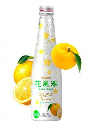 Sake Yuzu Sparkling | Sake Espumoso de Cítrico Yuzu