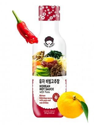 Salsa Bibimbap Coreana con Yuzu | Receta de Suncheon 335 grs.