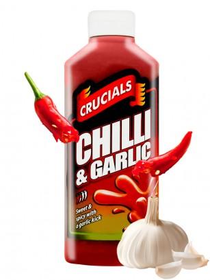 Salsa Chili y Ajo Crucials 500 ml. | Dulce y Picante