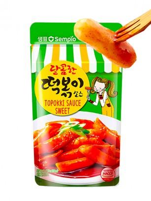 Salsa Fresca Coreana Topokki Sabor Medio Picante 150 grs