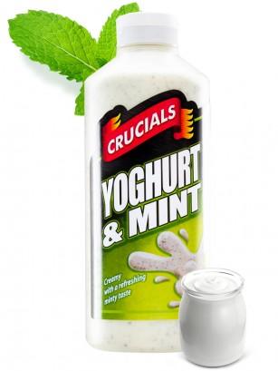 Salsa Yogur y Menta Crucials 500 ml.