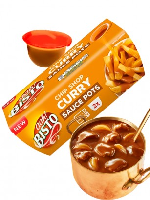 Salsa Curry para Chips | 2 pots | 180 grs.