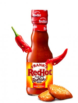 Salsa para Alitas Picantes | Franks Red Hot 148 ml.