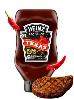 Salsa de BBQ Texas Style | Bold & Spicy Heinz 552 grs.