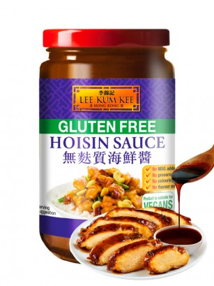 Salsa Hoisin Pato Pekin Sin Gluten Vegano | Lee Kum Kee 397 grs.