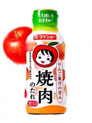 Salsa Japonesa BBQ con Manzana de Aomori 230 grs.